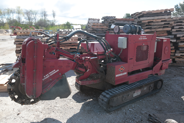 Used 2012 Morbark D-86 Track Stump Grinder