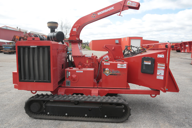 Used 2013 Morbark M12R Track Brush Chipper