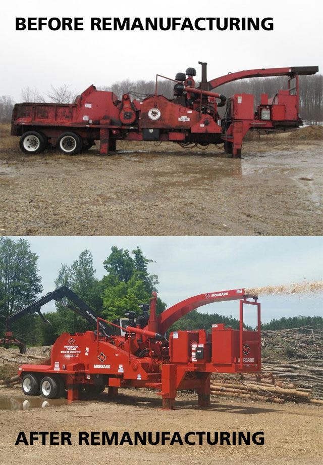 Morbark Expands Remanufactured, Used Equipment Focus