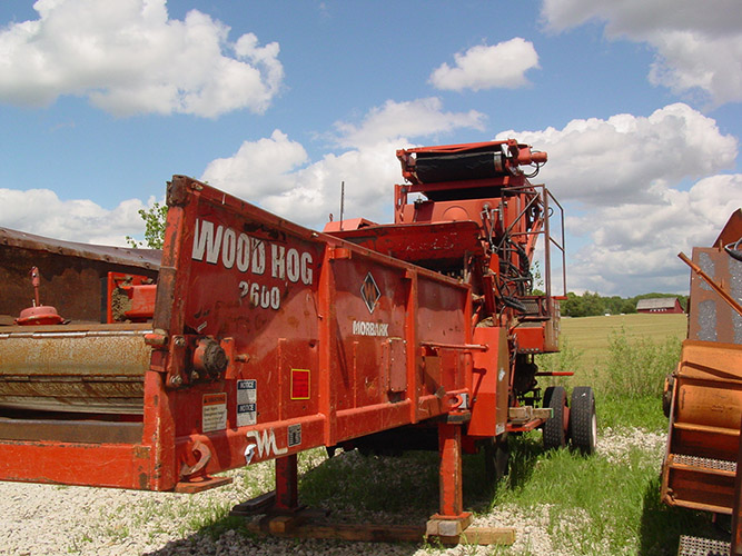 Refurbished Morbark 2600 Electric Wood Hog